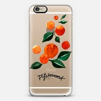 Orange Tree iPhone 6 case by Fifikoussout | Casetify