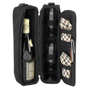 London Sunset Wine Cooler, Black, Coolers & Thermal Bags