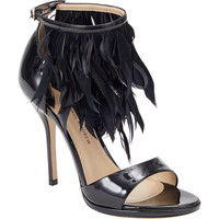 Paul Andrew Amazon Feathered Sandals Sale up to 70% off at Barneyswarehouse.com