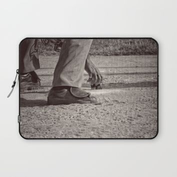 Clean Plate Laptop Sleeve by Leah McPhail