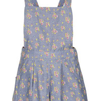 Floral Chambray Playsuit