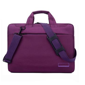 Noble Purple Laptop Bag for Women 14 Inches Laptop Messenger Bag