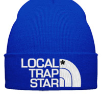 local trap Bucket  - Beanie Cuffed Knit Cap