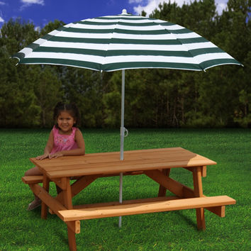 Gorilla Playsets Childrens Picnic Table
