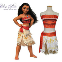 KIDS Princess Moana Costume