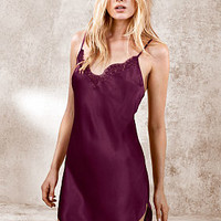 Lace-trim Satin Slip - Dream Angels - Victoria's Secret