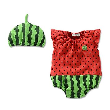 Baby Rompers Summer Baby Girl Clothes Cute Newborn Baby Clothes Roupas Bebe Infant Jumpsuit Baby Boy Clothing Kids Clothes