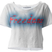 Freedom Glows Crop Tee