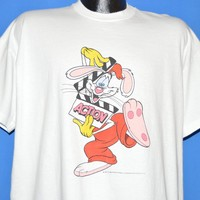 80s Who Framed Roger Rabbit 1988 Movie t-shirt Extra Large
