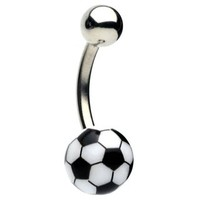 Soccer Ball Belly Rings