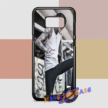 Suicide Silence (grey crouch) Samsung Galaxy S8 Case Planetscase.com