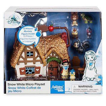 Disney Animators' Collection Snow White Micro Doll Playset Play Set New with Box
