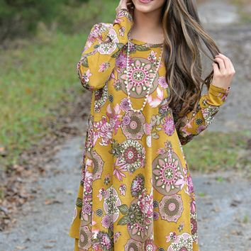 Just To Be With You Tunic Dress