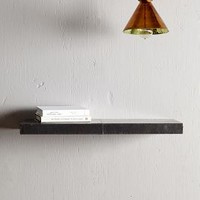 Zinc Floating Shelf by Anthropologie in Zinc Size: