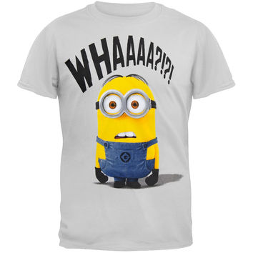 Despicable Me - Whaaa Grey Adult T-Shirt