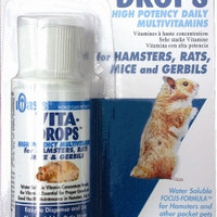 Oasis Vita Drops for Hamsters & Small Animals 2 oz Bottle