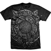 Iconic Flower All-Over-Print Black : SWRN : MerchNOW