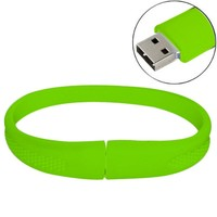 KOOTION Wristband USB Flash Memory Drive (64G, Green)