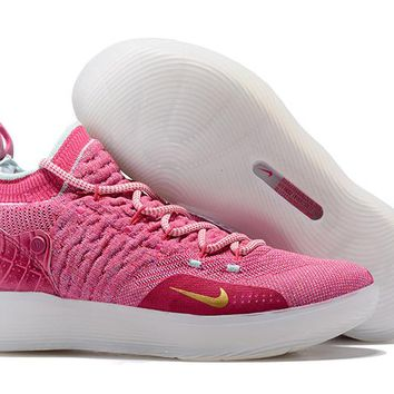 Nike Kevin Durant KD 11 Pink Basketball Shoe