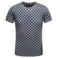 LMFONQ Boys & Men Louis Vuitton Fashion Casual Shirt Top Tee