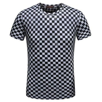 DCCKNY1Q Boys & Men Louis Vuitton Fashion Casual Shirt Top Tee