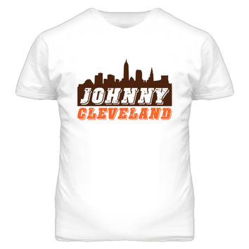 Youth Vintage Johnny Cleveland Skyline Football T-Shirt