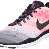 Nike Wmns Free TR Fit 3 PRT White Pearlized Pink (555159-100) (6 B(M) US): Shoes