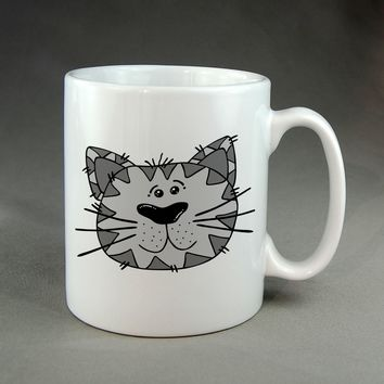 Cat garfield clipart Mug, Tea Mug, Coffee Mug