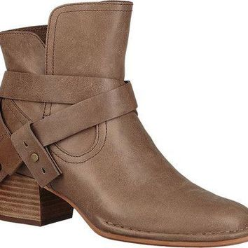 Elysian Leather Bootie