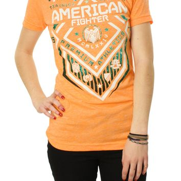 American Fighter Women's North Dakota Sidewalk Graphic T-Shirt
