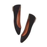 Women's SHOES & BOOTS - skimmers - The Suede Sidewalk Skimmer - Madewell