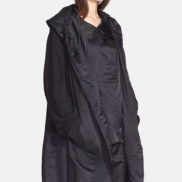 Women's Donna Karan New York Satin & Voile Coat