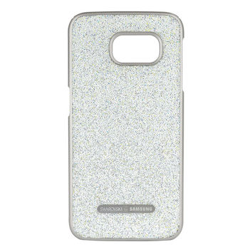 Swarovski Crystal Protective Cover for Galaxy S6, Aurora White