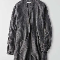 AEO Open Front Cardigan , Gray