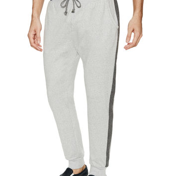 Alternative Apparel Men's Mock Twist Slim Pants - Grey -