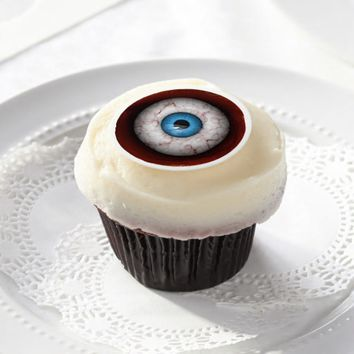 Creepy Eye Halloween Edible Frosting Rounds