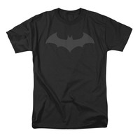 Batman Men's  Hush Logo T-shirt Black Rockabilia