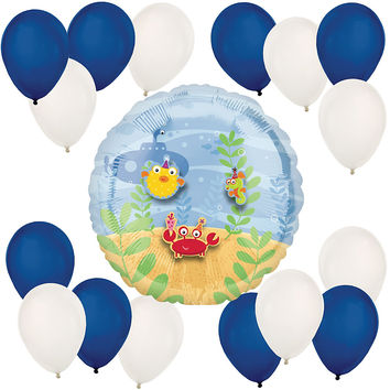 Baby Sea Critters - Baby Shower Balloon Kit