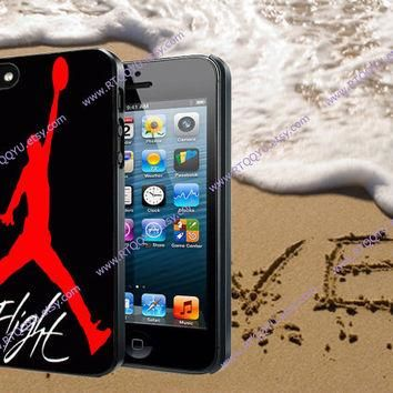 Air Jordan Logo For iPhone 4/4S/5/5S/5C, Samsung Galaxy S3/S4, htc One X/x+/S Case, iP