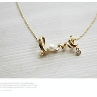 Love Necklace from Envy