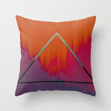 Clear as Day Throw Pillow by Ducky B