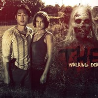 The Walking Dead - Glenn and Maggie Green - Poster