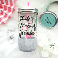 Makeup Tumbler (Glass)