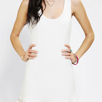 Urban Outfitters - COPE Sheer Flounce Drop-Waist Dress