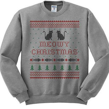 Best Meowy Christmas Sweater Products on Wanelo