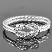 infinity ring, infinity knot ring, double infinity ring, best friend ring, promise ring,personalized ring, friendship ring, sisters ring