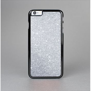The Silver Sparkly Glitter Ultra Metallic Skin-Sert Case for the Apple iPhone 6