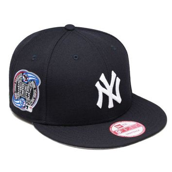 DCK4S2 New Era New York Yankees Snapback Hat Cap SUBWAY 2000 World Series Side Patch