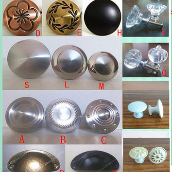 variety style Stainless steel Door Drawer Cabinet Wardrobe Pull Handle Knobs furniture Hardware handle