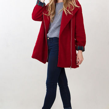 Red Robins Coat